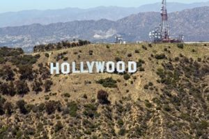 Hollywood hill sign