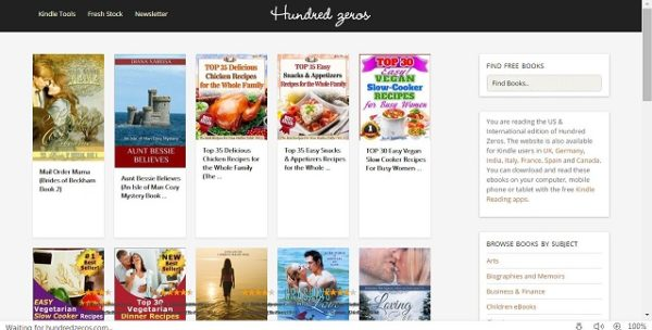 Free ebooks download sites