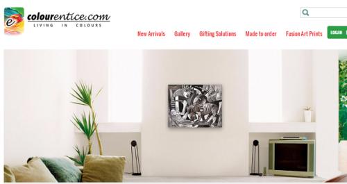 Colourentice.com buy indian paintings online