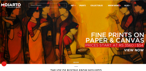 Mojarto.com buy indian art online