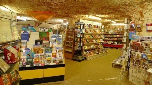 Underground market Coober Pedy australia