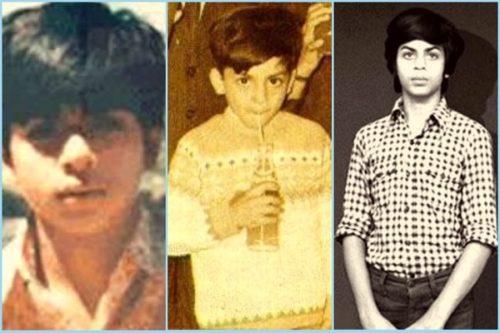 Shahrukh Childhood Pic