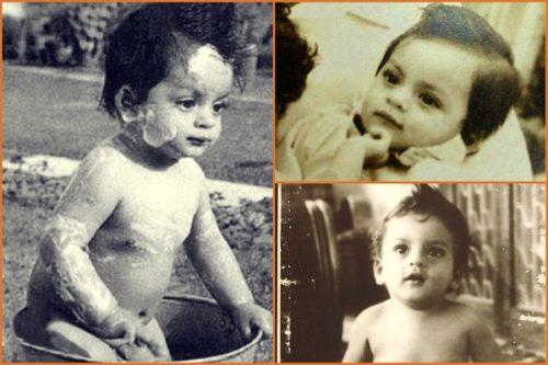 Shahrukh childhood photos