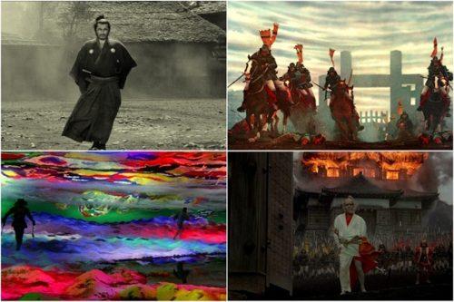 Akira Kurosawa 4 best films scenes