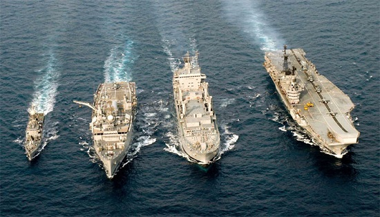 Indian Navy warships