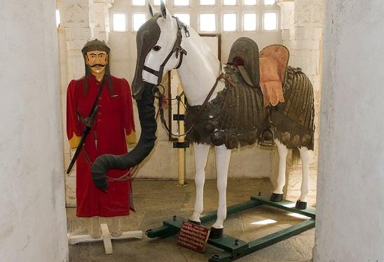 Maharana Pratap Horse in Haldighati