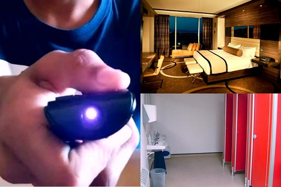 mobile camera infrared light