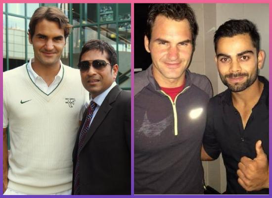 Roger federer India
