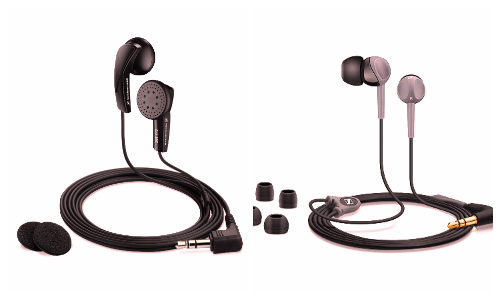 Budget Sennheiser earphones