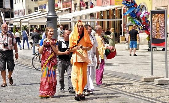 hare-krishna Iskcon movement