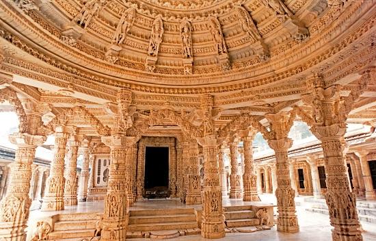Dilwara temple interior images
