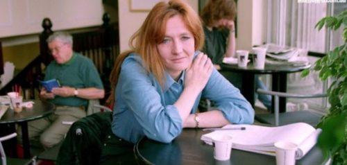 J K Rowling Struggling days image