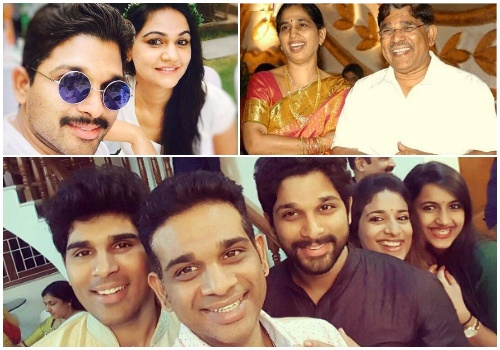 Allu Arjun Family, parents, wife
