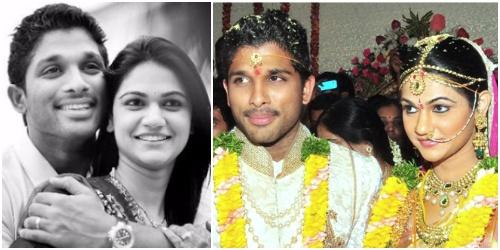 Allu Arjun marriage sneha reddy