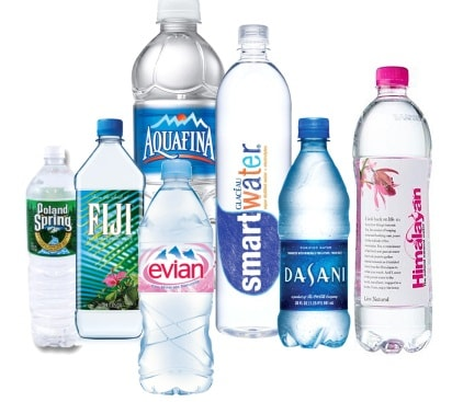 Mineral water brands India